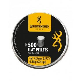 Piombini Browning Flat cal. 4,5 0,48g 500 pz